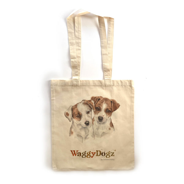 Jack Russell Puppies Tote Bag