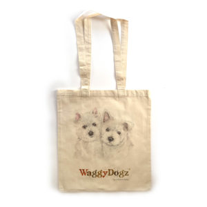 West Highland White Terrier Puppies Tote Bag