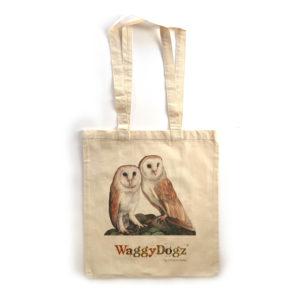 Barn Owl Pair Tote Bag